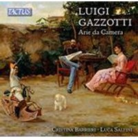 Luigi Gazzotti: Arie da Camera (Music CD)