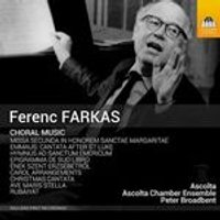Ferenc Farkas: Choral Music (Music CD)