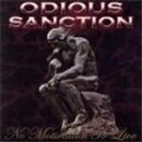 Odious Sanction - No Motivation To Live (Music CD)