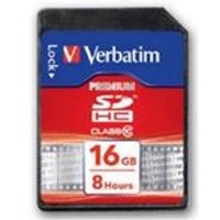 Verbatim 16GB SecureDigital SDHC Card (Class10)