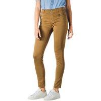 Image of Angels Malu Zip Jeans Slim dark safari