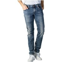 Image of Alberto Slipe Jeans Tapered Fit Vintage dark blue