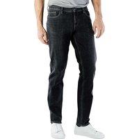 Image of Alberto Pipe Jeans Slim Bi-Stretch Denim dark grey