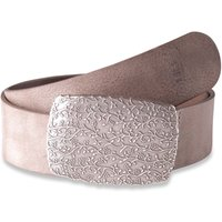 Image of Claudette Silver taupe 45mm by BASIC BELTS
