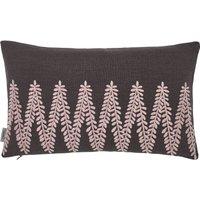 Murmur Chevron Cushion in Grey Blush
