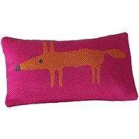 Scion Mr Fox Cushion in Cerise Pink