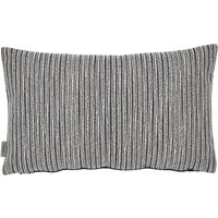 Murmur Rule Embroidered Cushion in Navy