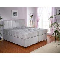 Clearance Dreamworks Beds 5 Ft Duo Comfort Zip & Link Divan Bed - 4 Drawer