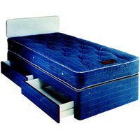 Sleepvendor Buttermere Heavy Duty Contract 3FT Single Divan Bed With Drawers