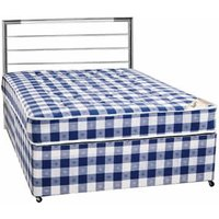 Clearance Sleeptime Beds (Base Only) Chester 3FT Single Divan Base - Non Drawer