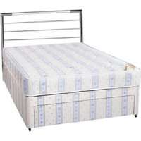 Clearance Sleeptime Beds (Base Only) Super Ortho 5FT Kingsize Zip & Link Divan Base - Non Drawer