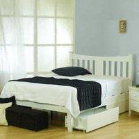 Sweet Dreams Arquette 5FT Kingsize Bedstead - White