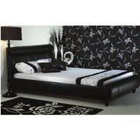 Star Collection Diamond 5FT Kingsize Leather Bedstead