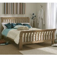 Carlton Keswick 4FT 6 Double Wooden Bed High Footend