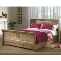 Carlton Cartmel 4FT 6 Double Wooden Sleigh Bed