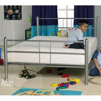 Apollo Beds Atlas 4FT Small Double Metal Bedstead