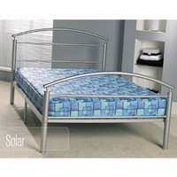 Apollo Beds Solar 4FT Small Double Metal Bedstead