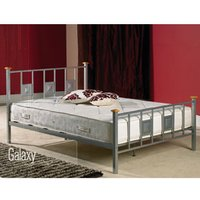 Apollo Beds Galaxy 4FT Small Double Metal Bedstead