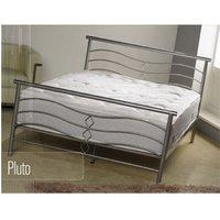 Apollo Beds Pluto 4FT 6 Double Metal Bedstead