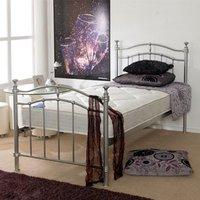Apollo Beds Supremo 5FT Kingsize Metal Bedstead
