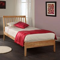 Limelight Ananke 4FT Small Double Wooden Bedstead - Birch