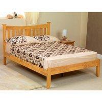 Sweet Dreams Arquette 4FT Small Double Wooden Bedstead - Oak