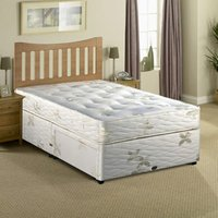 Clearance Myers Posture Myerpaedic 3FT Single Divan Bed - Non Drawer