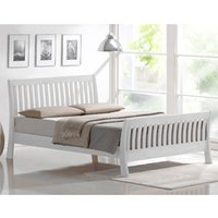 Interiors2Suit Picasso White 4FT 6 Double Bedstead