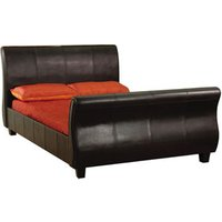 LPD Balmoral 4FT 6 Double Leather Bedstead