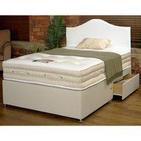 Sleeptime Beds 3000 Backcare Memory 2FT 6 Small Single Divan Bed