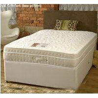 Sleeptime Beds 1500 Royal Comfort 2FT 6 Small Single Divan Bed