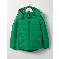 Padded Jacket Green Boys Boden, Green