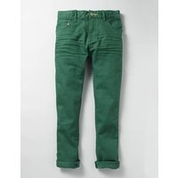 Coloured Skinny Jeans Green Boys Boden, Green
