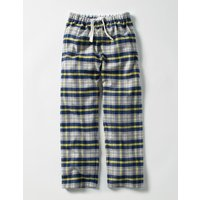 Brushed Check Bottoms Grey Boys Boden, Grey