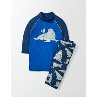 Surf Suit Blue Boys Boden, Blue