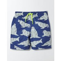 Bathers Beacon Walrus Boys Boden, Blue