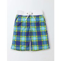 Board Shorts Fresh Blue Check Boys Boden, Blue