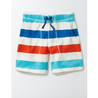 Towelling Shorts Multi Boys Boden, Multi