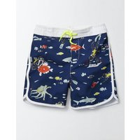 Surf Shorts Beacon Diver Boys Boden, Blue