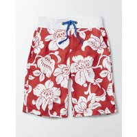 Board Shorts Red Boys Boden, Red