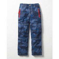 Lined Skate Trousers Blue Boys Boden, Blue