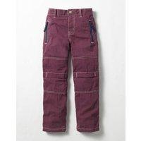 Lined Skate Trousers Purple Boys Boden, Purple
