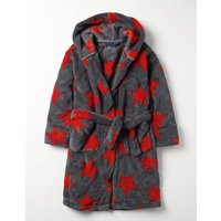 Dressing Gown Red Boys Boden, Red