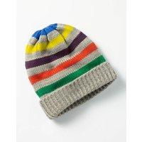 Knitted Hat Grey Boys Boden, Grey