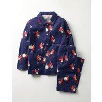 Woven Pyjamas Blue Boys Boden, Blue