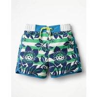 Surf Shorts Green Boys Boden, Green