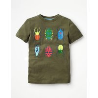 Rock n Crawl Graphic T-shirt Green Boys Boden, Green