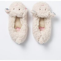 Lamb Slippers Natural Girls Boden, Natural