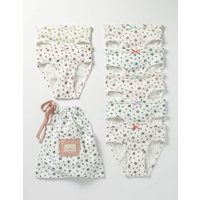 7 Pack Pants Ivory Girls Boden, Ivory
