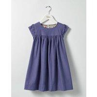 Pretty Cord Dress Dark Wisteria Purple Girls Boden, Purple